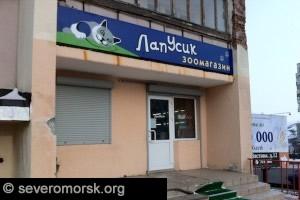 """Зоомагазин """"Лапусик"""", Североморск"""